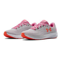 Under Armour Womens Charged Pursuit 2 Running Shoes Trainers Sneakers Grey Pink