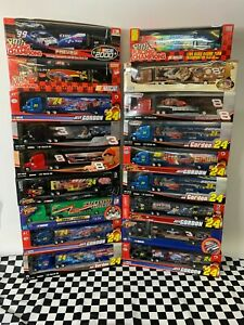 Lot Of 18 Winners Circle NASCAR Die-cast Trailer Rigs Racing Champions NICE!