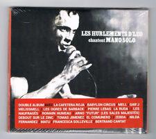 ♫ - LES HURLEMENTS D'LEO - CHANTENT MANO SOLO - 2 CD SET - 2015 - NEUF NEW - ♫