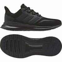 Adidas Juniors Run Falcon Trainers (Black)