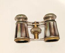 Antique Binoculars Vintage Theater Glasses Mother of Pearl German