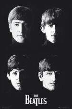 The Beatles B&W Poster - Cover Full Size Print - Lennon McCartney Harrison