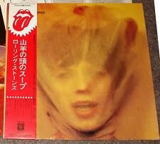"ROLLING STONES ""Goats Head Soup"" 1970 Japan Lp w/Obi & lyrics JAGGER"