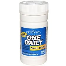 21st Century, One Daily, Men's Health, 100 Tablets