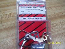 Massey Harris Withautolight Dist 444555303402404combine 2627ign Point Kit