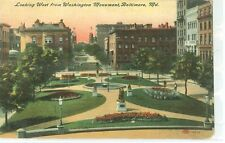 Baltimore,Md-Looking West From Washington Monument-(S-574*)Pre20