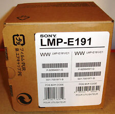 SONY ORIGINAL LAMP LMP-E191 FOR SONY PROJECTORS VPL-ES7, EX7, EX70, BW7  =N E W=