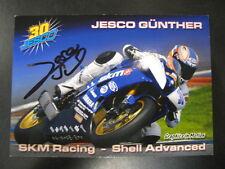 SKM Racing Yamaha IDM SSP Yamaha R6 2010 #30 Jesco Günther (D) gesigneerd