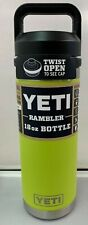 YETI Rambler 18 Oz Vacuum Insulated Stainless Steel Bottle with Chug Cap