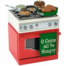 Hallmark 2017 Oh Come All Ye Hungry Stove Ornament
