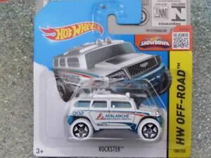 Hot Wheels 2015 #108/250 Rockster Hw City Blanc