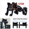 CNC QC3.0 Fast USB Charger Motorcycle Phone Holder Bracket Mount Waterproof