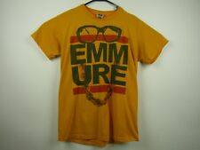 Mens Fruit Of The Loom Medium Yellow Emmure Graphic Crewneck T-Shirt