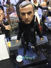 José Mourinho Action Figure Coach Manchester United MUFC Statue Souvenirs 4.8''