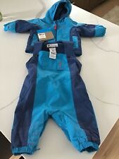 NEW COLUMBIA BABY BOYS JACKET AND SNOW PANTS BIBS SET- 6M Infant