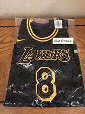 Los Angeles Lakers Kobe Bryant Youth L City Edition Swingman Jersey Black Mamba