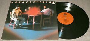 AZYMUTH Flame 1984 Milestone M-9128 MPB Latin Jazz Funk Vinyl LP FLORA PURIM