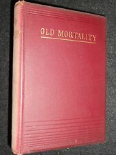Sir Walter Scott; Old Mortality - c1890 - Vintage Novel, Victorian Fiction HB