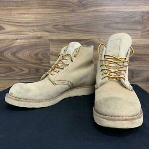 Red Wing Authentic 8167 Suede Boots Beige US 8.5 EU 41.5 Used from Japan
