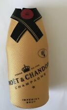 Moet Chandon Champagne Insulated Bottle Jacket Chiller Sleeve Cooler Gold Tuxedo