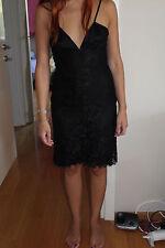 Versace versus Black Lace Dress Size XS