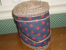 BETHANY LOWE-DENIM & STARS FABRIC ROLL-NEW