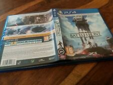 REPLACEMENT CASE For Star Wars Battlefront NO GAME on Sony PS4 VGC