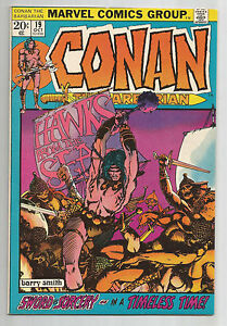 "Conan the Barbarian #19: Bronze Age Grade 9.0  Find ""Hawks From the Sea""!!"