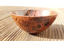 NATURAL MAHOGANY OBSIDIAN STONE HANDCARVED GEMSTONE BOWL [13]