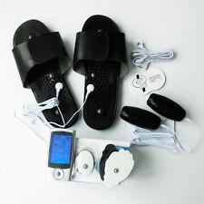 16 modalità impulso elettrico TENS EMS massaggi + massaggio Granate e  ciabatte 9ffd20f4527
