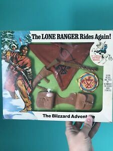 """Vintage 1973 The Lone Ranger Rides Again """"The Blizzard Adventure"""" NEW"""