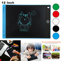 """8.5/12"""" LCD Drawing Tablet eWriter Writing Pad Notepad Electronic Graphics Board"""
