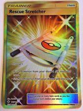 Pokemon Sun & Moon Burning Shadows Card Rescue Stretcher 165/147 Rare Full Art
