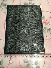 Rolex Leder Etui Papiere Dokumente Vintage 70s 80s