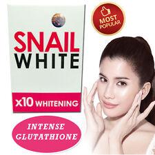 NEW!! SNAIL WHITE SOAP GLUTATHIONE X10 WHITENING SKIN/ANTI AGING/REDUCE ACNE