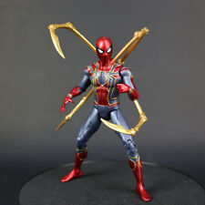 Marvel Spider Man Iron Spider Avengers Infinity War 7'' Action Figure Toy Gifts