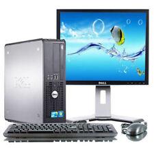 Dell Windows 7 Professional 32-Bit SFF Desktop 4GB Hard Drive Burner