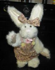 Boyds Bear Plush Stuffed Teddy Colletible Toy Long Eared Rabbit Bunny Archive