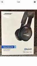 BOSE SOUNDLINK BLUETOOTH BLACK/HEADBAND HEADPHONES New And sealed.