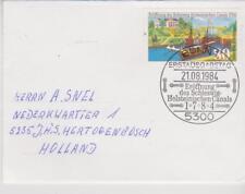 Germany BRD Bundespost 1984 MI 1223 auf brief / cover Erstausgabe-Stempel Bonn