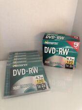 Memorex DVD+RW  Discs 4.7 GB 120 Minute Video 1x-2x New In Box T-2