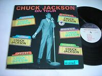 Chuck Jackson on Tour 1964 Mono LP VG+