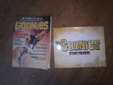 THE GOONIES Vintage Official Collector's Edition Magazine 1985 + storyboards