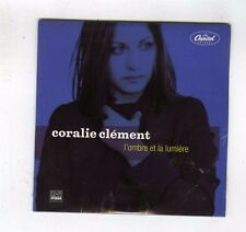 CD SINGLE PROMO (NEUF) CORALIE CLEMENT L'OMBRE ET LA LUMIERE (BENJAMIN BIOLAY)