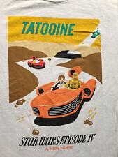 Star Wars TATOOINE New Hope C3PO Episode IV Disney Parks T-Shirt Sz.S