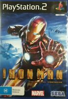 PS2 Iron Man Inc Manual