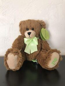 "St. Judes Children's Hospital Plush Bear 12"" NWT First & Main stuffed toy 2009"
