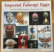 1993 IMPERIAL FABERGE EGGS PUZZLE 600 + PCS FORBES MAGAZINE NORDEVECO COMPLETE