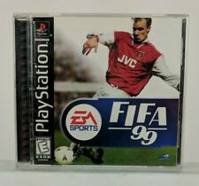 Sony PlayStation 1 FIFA 99 and 2000 Video Game Bundle Black Label EUC