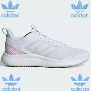 Adidas Fluids Street White And Pink Stripes Women's Shoes Running   Size 8 Sport